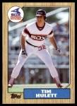 1987 Topps #566  Tim Hulett  Front Thumbnail
