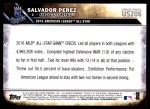 2016 Topps Update #206   -  Salvador Perez All-Star Back Thumbnail