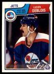 1983 O-Pee-Chee #383  Lucien DeBlois  Front Thumbnail