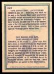 1983 O-Pee-Chee #324   -  Rick Vaive Highlights Back Thumbnail