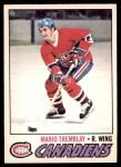 1977 O-Pee-Chee #163  Mario Tremblay  Front Thumbnail