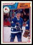 1983 O-Pee-Chee #297  Randy Moller  Front Thumbnail