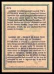 1983 O-Pee-Chee #275   -  Paul Gardner Highlights Back Thumbnail