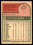1975 O-Pee-Chee #634  Cy Acosta  Back Thumbnail