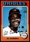 1975 O-Pee-Chee #358  Al Bumbry  Front Thumbnail