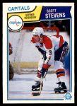 1983 O-Pee-Chee #376  Scott Stevens  Front Thumbnail