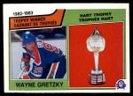 1983 O-Pee-Chee #203   -  Wayne Gretzky Hart Trophy Front Thumbnail