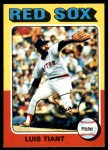 1975 O-Pee-Chee #430  Luis Tiant  Front Thumbnail