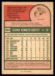 1975 O-Pee-Chee #284  Ken Griffey  Back Thumbnail