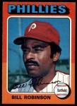 1975 O-Pee-Chee #501  Bill Robinson  Front Thumbnail