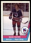 1977 O-Pee-Chee WHA #12  Mark Napier  Front Thumbnail