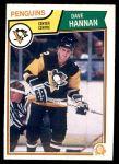 1983 O-Pee-Chee #281  Dave Hannan  Front Thumbnail