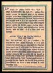 1983 O-Pee-Chee #224   -  Don Lever Devils Highlights Back Thumbnail