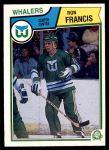 1983 O-Pee-Chee #138  Ron Francis  Front Thumbnail
