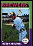 1975 O-Pee-Chee #468  Bobby Mitchell  Front Thumbnail