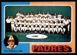 1975 O-Pee-Chee #146   -  John McNamara Padres Team Checklist Front Thumbnail