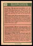 1975 O-Pee-Chee #191   -  Al Rosen / Roy Campanella 1953 MVPs Back Thumbnail
