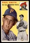 1954 Topps #11 WHT Paul Smith  Front Thumbnail