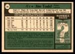 1979 O-Pee-Chee #46  Jim Todd   Back Thumbnail