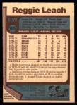 1977 O-Pee-Chee #185  Reggie Leach  Back Thumbnail