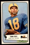 1954 Bowman #70  Tobin Rote  Front Thumbnail