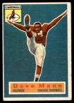 1956 Topps #34  Dave Mann  Front Thumbnail