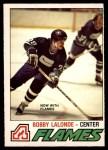 1977 O-Pee-Chee #313  Bobby Lalonde  Front Thumbnail