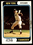 1974 O-Pee-Chee #324  Steve Kline  Front Thumbnail