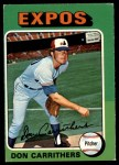 1975 O-Pee-Chee #438  Don Carrithers  Front Thumbnail