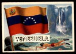 1956 Topps Flags of the World #12   Venezuela Front Thumbnail