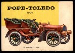 1954 Topps World on Wheels #153   Pope-Toledo Touring Car 1904 Front Thumbnail