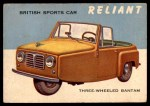 1954 Topps World on Wheels #115   Reliant Front Thumbnail