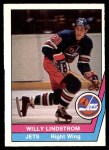 1977 O-Pee-Chee WHA #39  Willy Lindstrom,  Front Thumbnail