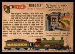 1955 Topps Rails & Sails #124   Monster Back Thumbnail