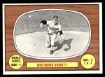 1967 Topps #151   -  Moe Drabowsky 1966 World Series - Game #1 - Moe Mows Down 11 Front Thumbnail