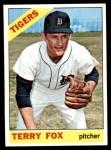 1966 Topps #472  Terry Fox  Front Thumbnail