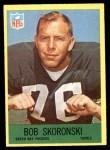 1967 Philadelphia #81  Bob Skoronski  Front Thumbnail