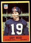 1967 Philadelphia #131  Gary Wood  Front Thumbnail