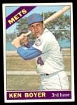 1966 Topps #385  Ken Boyer  Front Thumbnail