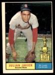 1961 Topps #148  Julian Javier  Front Thumbnail