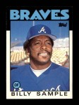 1986 Topps Traded #98 T Billy Sample  Front Thumbnail