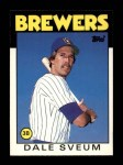 1986 Topps Traded #106 T Dale Sveum  Front Thumbnail