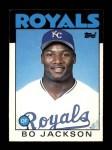 1986 Topps Traded #50 T Bo Jackson  Front Thumbnail