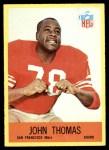 1967 Philadelphia #177  John Thomas  Front Thumbnail