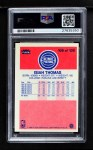 1986 Fleer #109  Isiah Thomas  Back Thumbnail