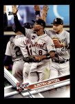 2017 Topps Update #94  Justin Upton  Front Thumbnail