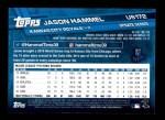 2017 Topps Update #172  Jason Hammel  Back Thumbnail