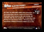 2017 Topps Update #237  Buster Posey  Back Thumbnail