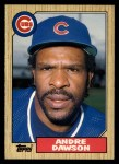 1987 Topps Traded #27 T Andre Dawson  Front Thumbnail