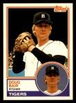 1983 Topps Traded #5 T Doug Bair  Front Thumbnail